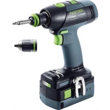 Perceuse visseuse sans fil Festool T 18+3 Li 5,2-plus Technologie Airstream