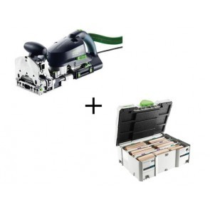Pack Fraiseuse Domino Festool DF700 EQ-Plus Systainer Domino D12/D14 128 pièces incluses